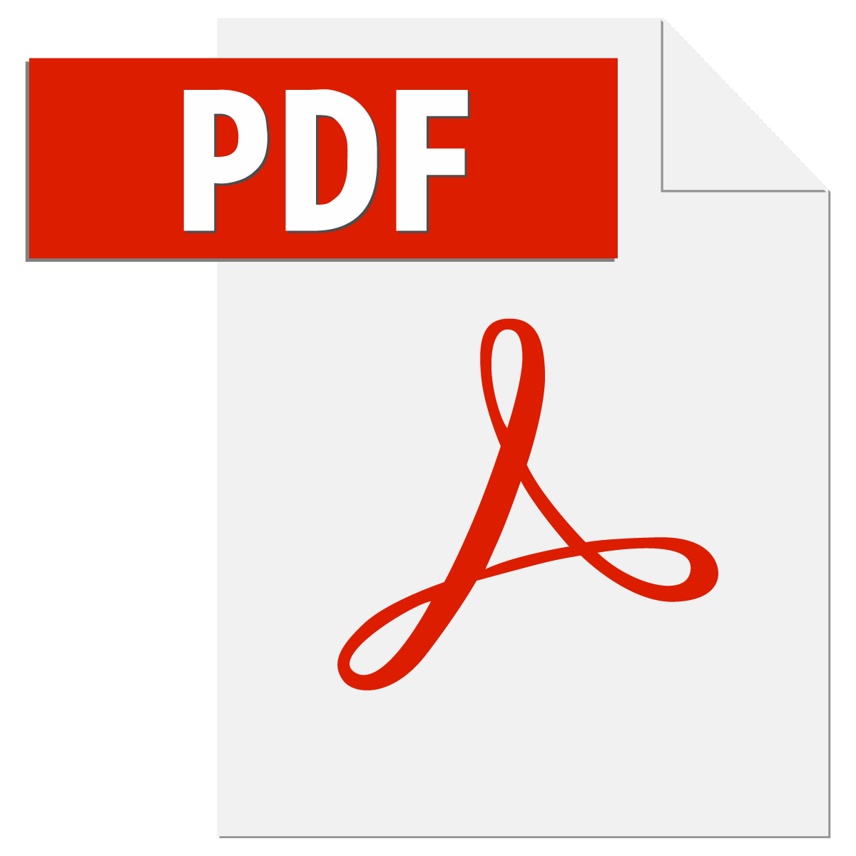 adobe pdf file icon logo vector